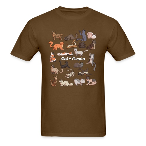 Cat Person T-shirt - Men's T-Shirt