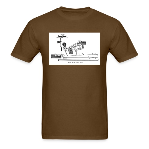 grand action scetch - Men's T-Shirt