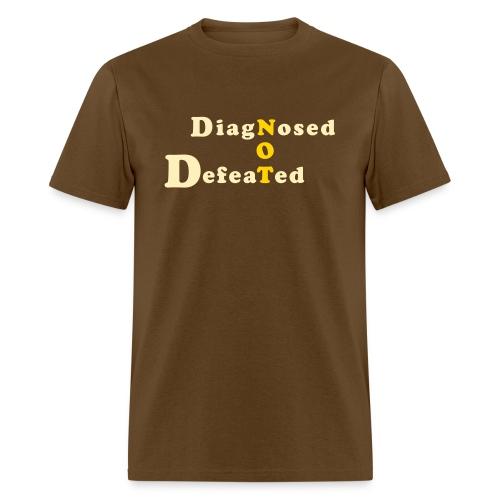 not defeatednourl - Men's T-Shirt