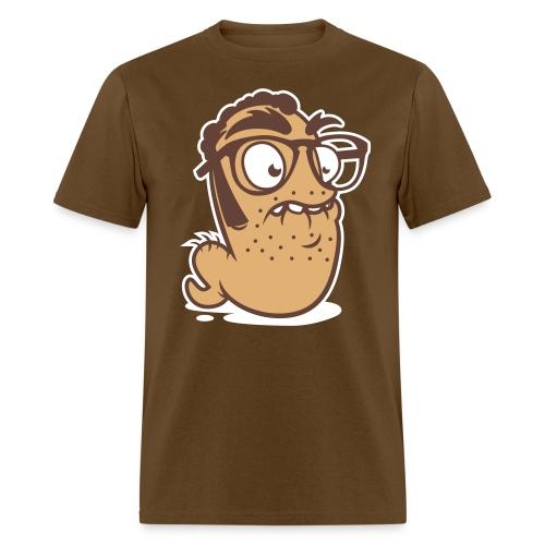 WormJorge_3ColorFinal03_N - Men's T-Shirt