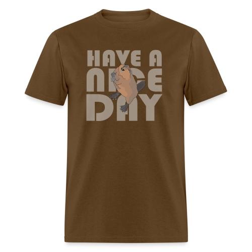 beaver - Men's T-Shirt