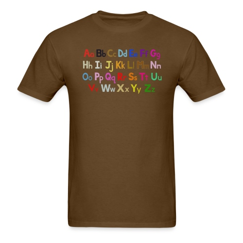 alphabet 2 - Men's T-Shirt