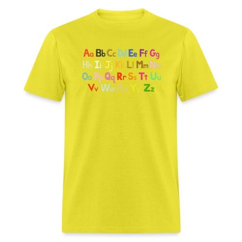 alphabet 2 - Men's T-Shirt
