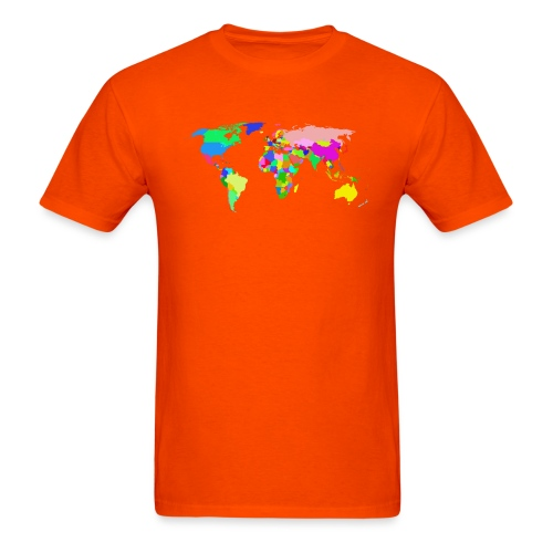 the world tshirt - Men's T-Shirt