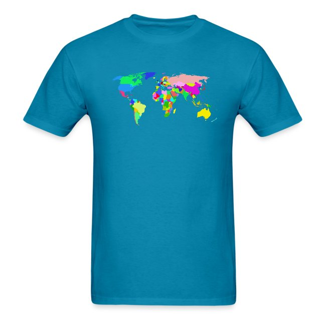 the world tshirt