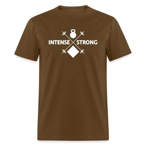 Hipster Fitness Exercise - Men's T-Shirt