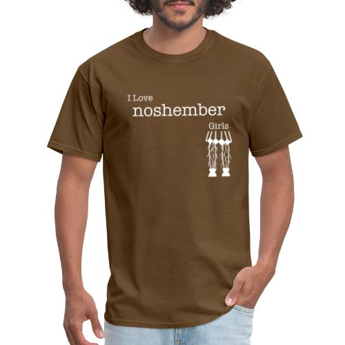 I Love Noshember Girls, Men's Tee - Men's T-Shirt