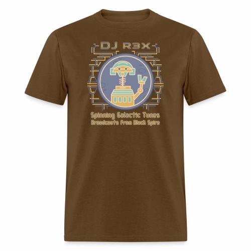 Galactic Tunes - DJ R3X - Men's T-Shirt