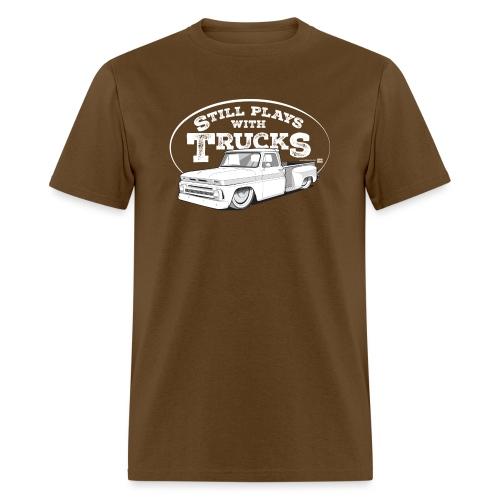 64 66BaggedC10LongStep WH - Men's T-Shirt