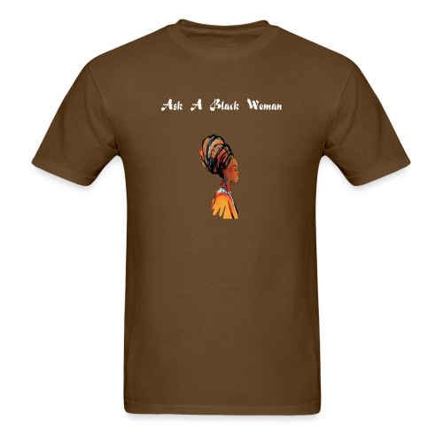 Official Gear of Ask A Black Woman Solo Show - Men's T-Shirt