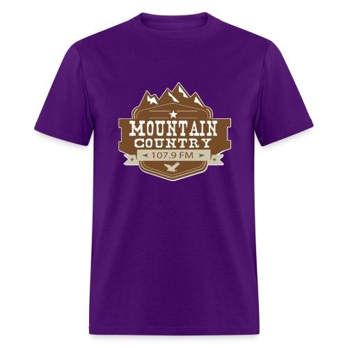 Mountain Country 107.9 - Men's T-Shirt