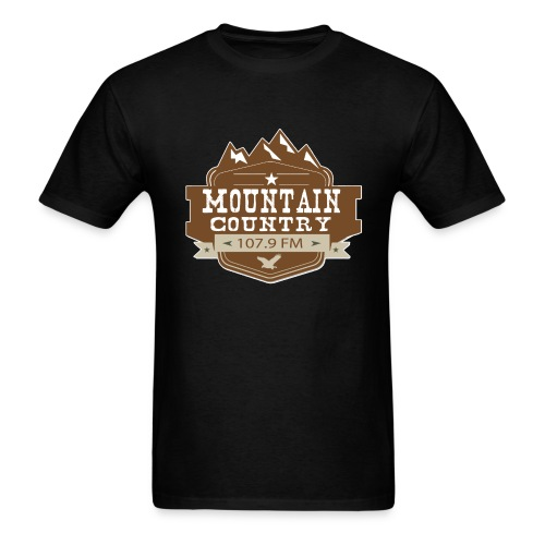 Mountain Country 107.9 - Men's T-Shirt