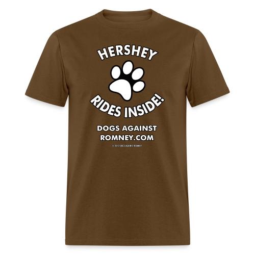 hershey m - Men's T-Shirt