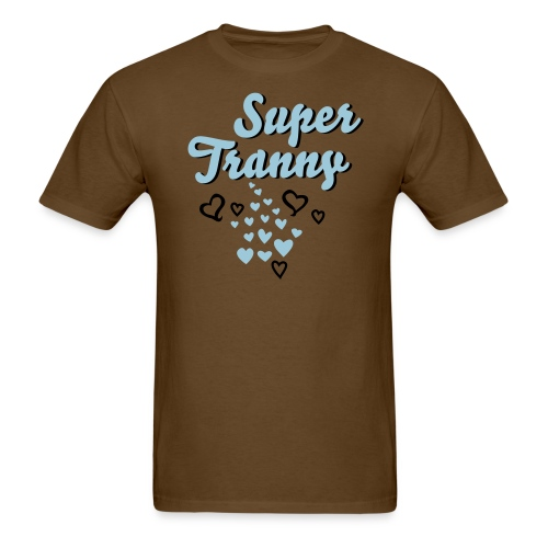 super tranny - Men's T-Shirt