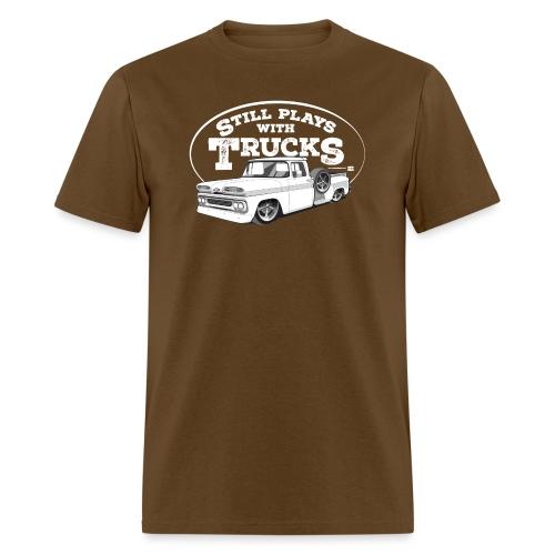 61C10BaggedLongStep WHT - Men's T-Shirt