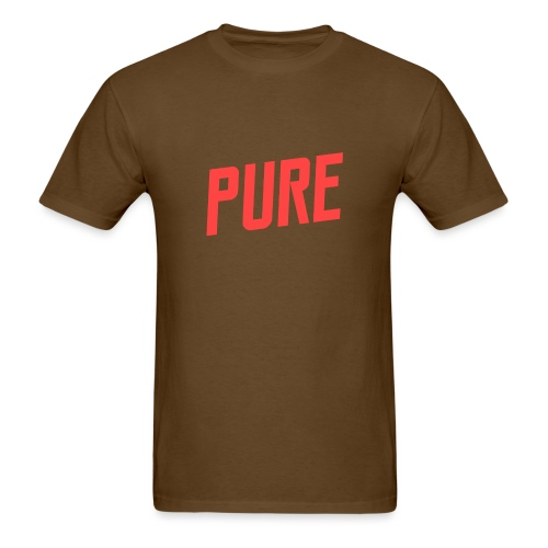pure logo no shadow2 png - Men's T-Shirt