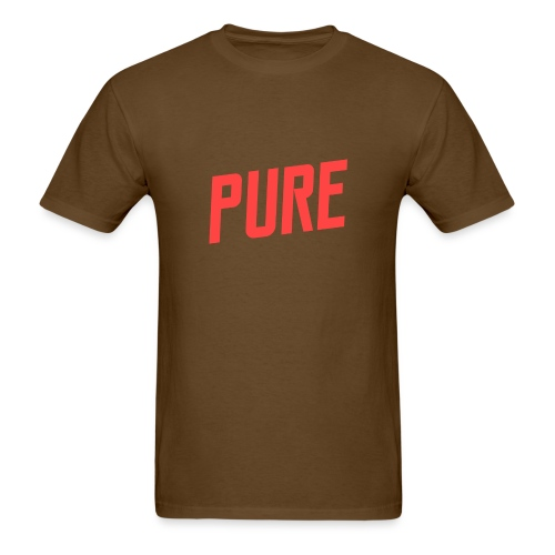 pure logo no shadow2 png - Men's T-Shirt