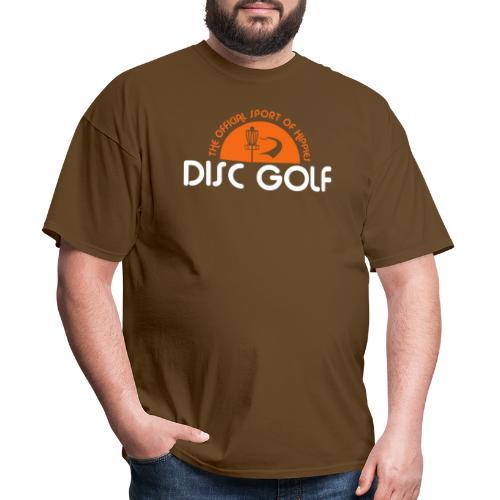 Disc Golf Official Sport of Hippies - Men's T-Shirt