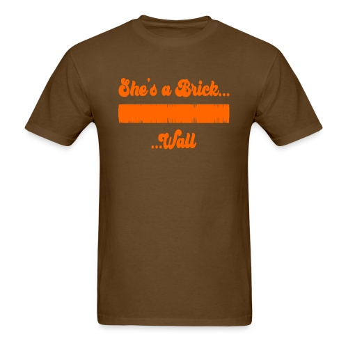Brick Wall Waveform - Men's T-Shirt