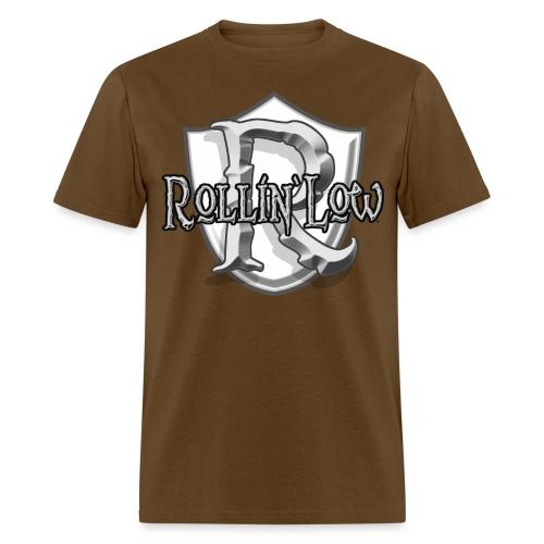 Rollin Low Shield by RollinLow - Men's T-Shirt