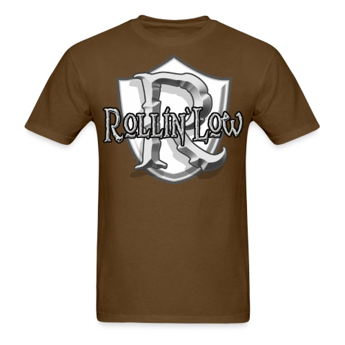 Rollin Low Shield by RollinLow - Men's T-Shirt