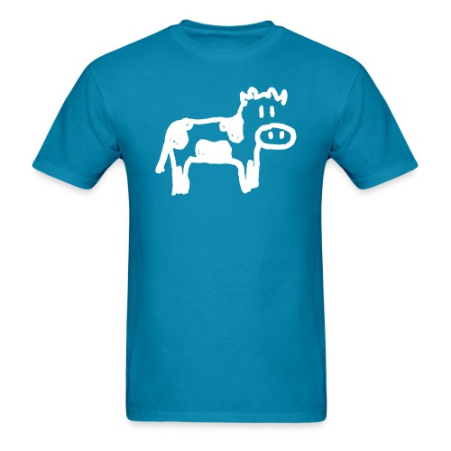 Cow - Reverse - Men's T-Shirt