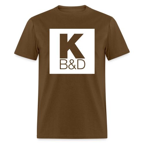KBD_White - Men's T-Shirt
