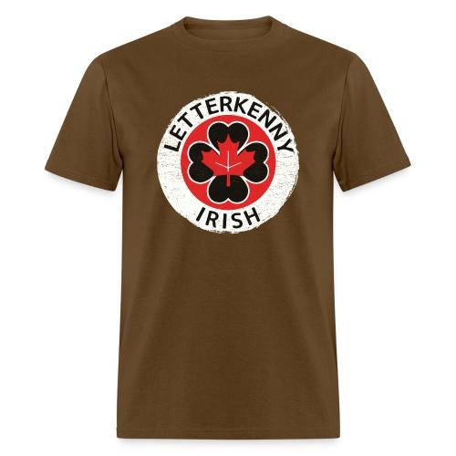 Shamrock Irish Letterkenny - Men's T-Shirt