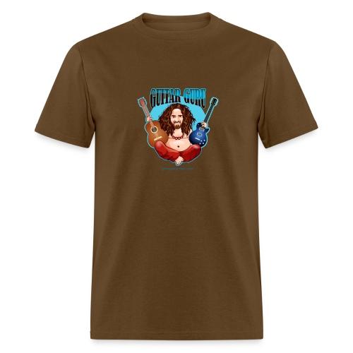Guitar Guru Laughing Buddha - Men's T-Shirt