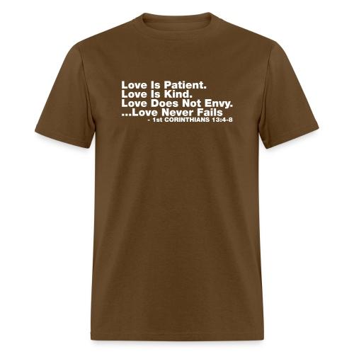 Love Bible Verse - Men's T-Shirt
