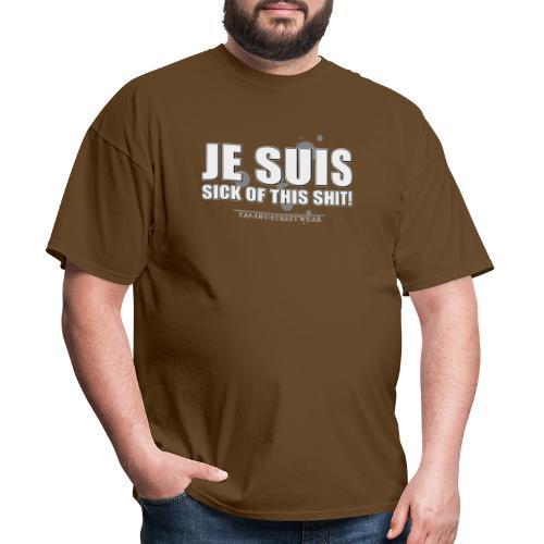 Je suis sick - Men's T-Shirt