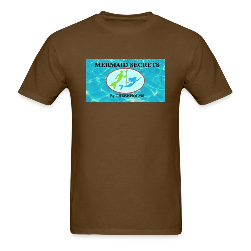 Mermaid Secrets By Theekholms - Men's T-Shirt