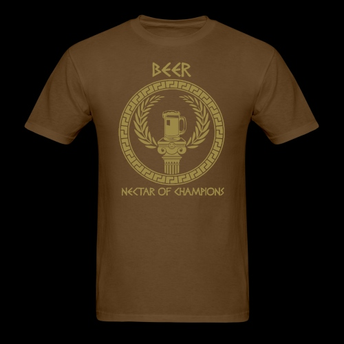 Beer: Nectar of Champions - Men's T-Shirt