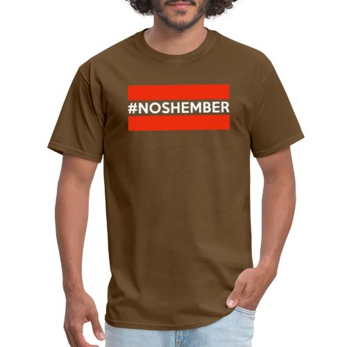 noshember white - Men's T-Shirt