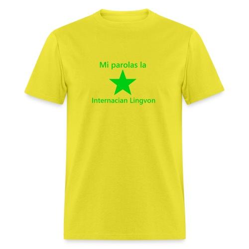 I speak the international language - Men's T-Shirt
