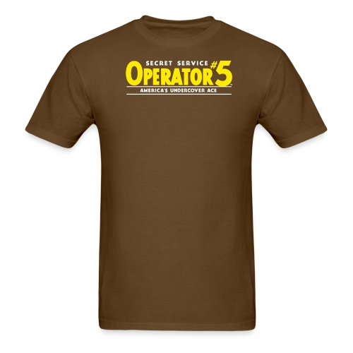 Operator 5 Logo 1934 - Men's T-Shirt