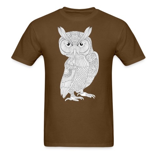 owlimage13 - Men's T-Shirt