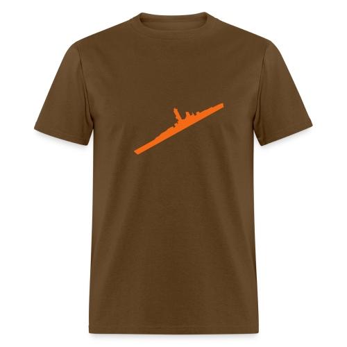 battleship - Men's T-Shirt