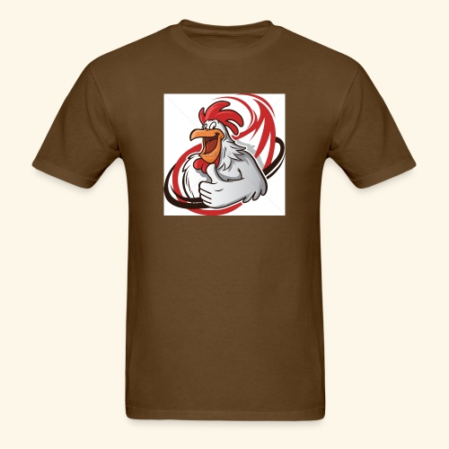 cartoon chicken with a thumbs up 1514989 - Men's T-Shirt