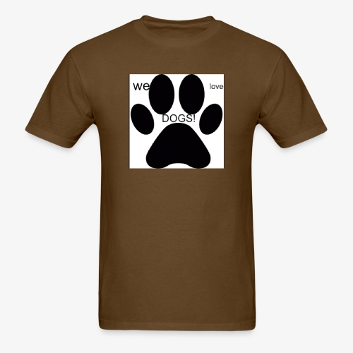 WE LOVE DOGS!!!!!!! - Men's T-Shirt