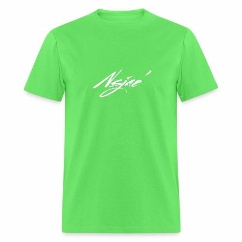 NSJAE White - Men's T-Shirt