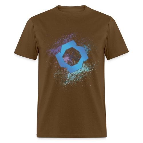 jrsplatcmyk2 - Men's T-Shirt