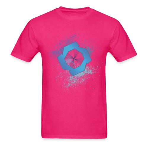 jrsplatcmyk2 - Men's T-Shirt