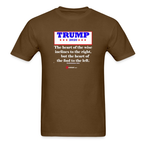 Trump 2020 Eccl 10 2 Inverted - Men's T-Shirt