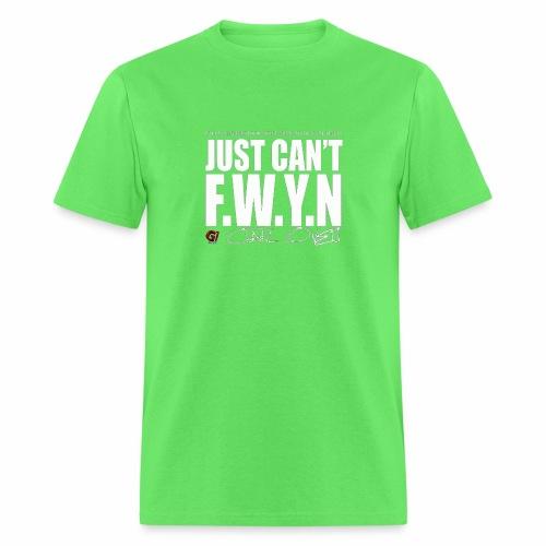 FWYN in White - Men's T-Shirt