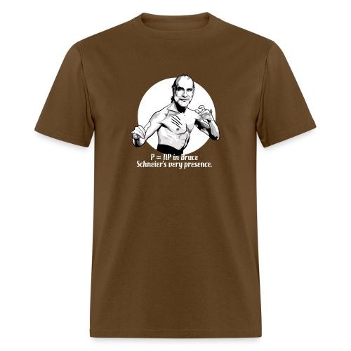 schneier3 martial white - Men's T-Shirt
