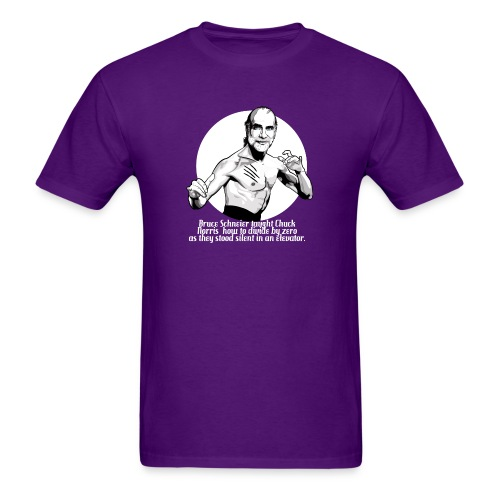 schneier10 martial white - Men's T-Shirt