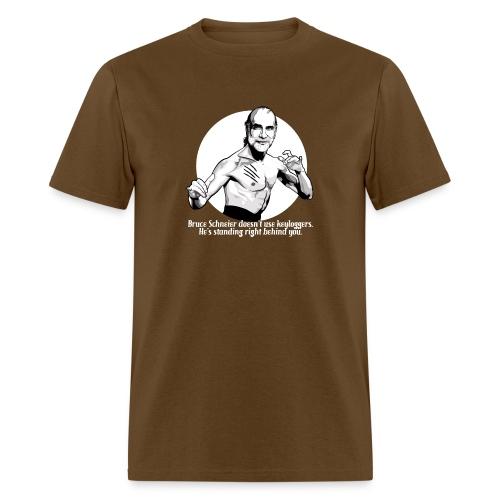 schneier11 martial white - Men's T-Shirt