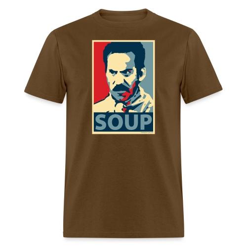 Obama Poster Parody Soup - Men's T-Shirt