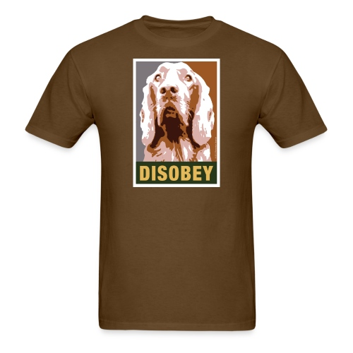 Official DAR Special Edition DISOBEY Brown - Men's T-Shirt